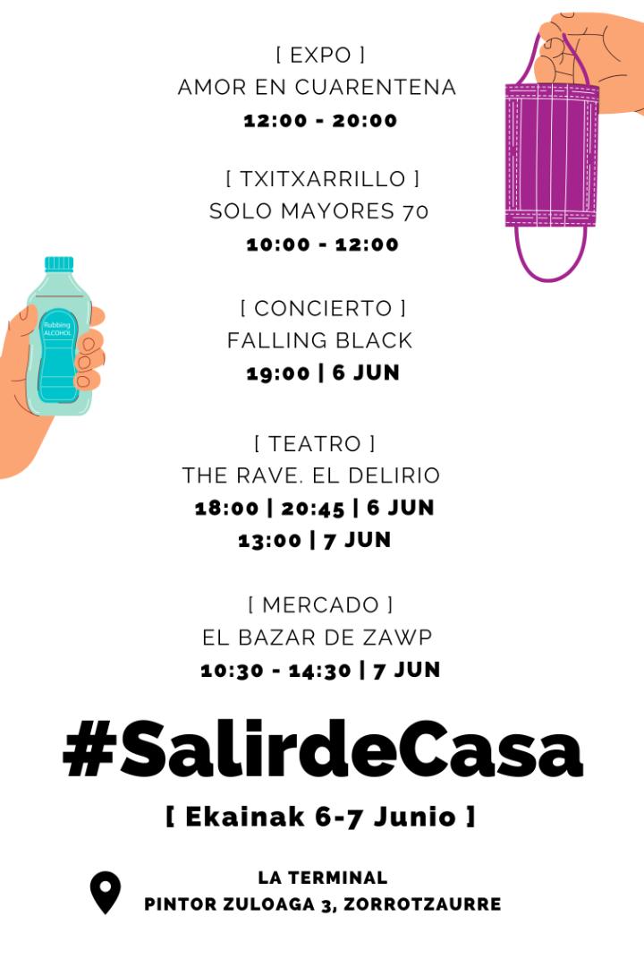 #SalirdeCasa Fest