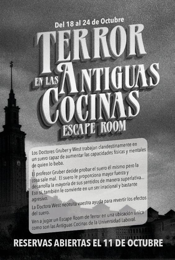TERROR EN LAS ANTIGUAS COCINAS