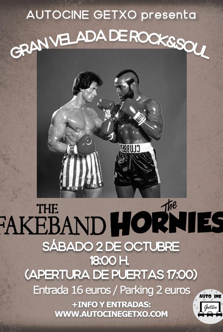 Concierto fakeband y Hornies
