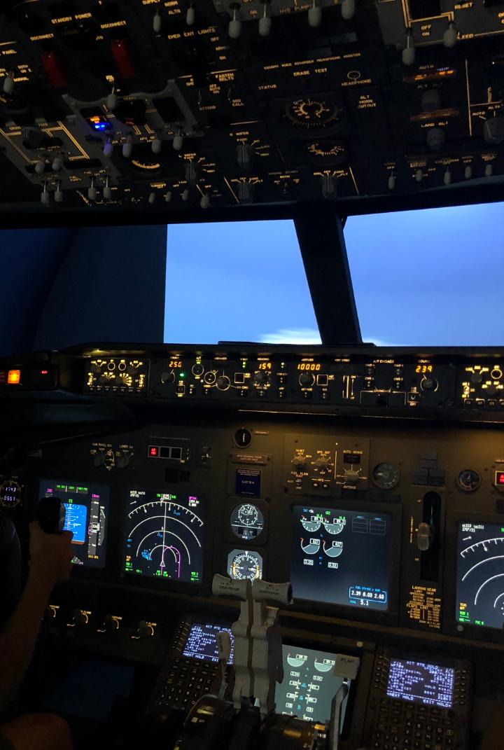 SIMULADOR B737 FLIGHT EXPERIENCE