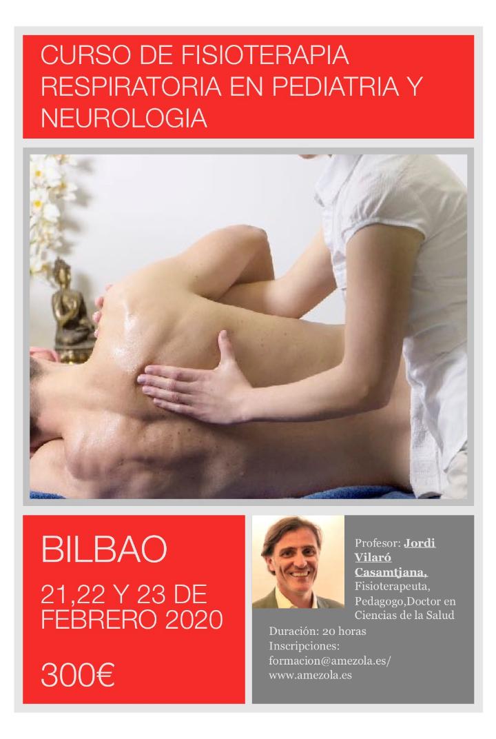 Curso de Fisioterapia Respitaroria en Pediatria y Neurologia