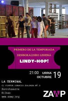 Lindy-Hop: Clase + Baile