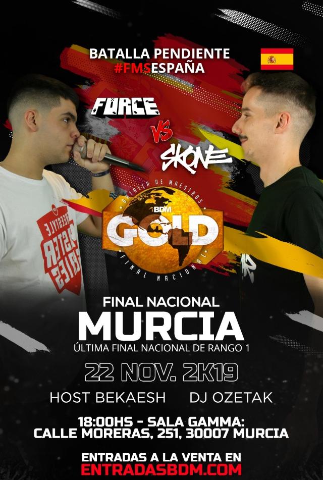 BDM GOLD Final Nacional